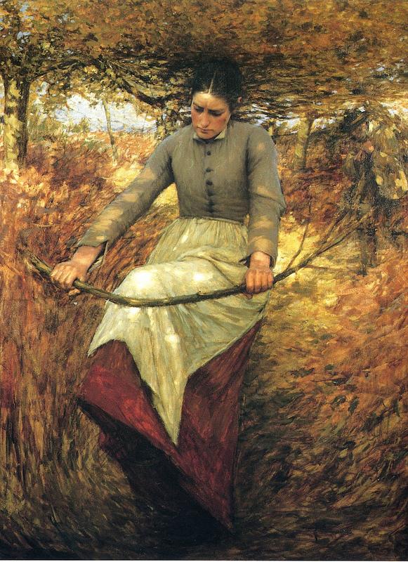 Henry Herbert La Thangue - An Autumn Morning